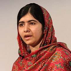 Malala Yousafzai, youngest Nobel Laureate and champion of Equal Opportunity for Every Child